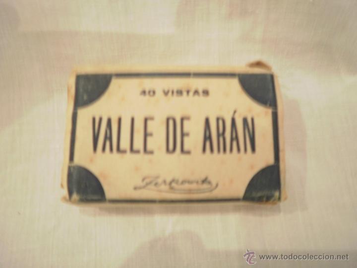 40 ANTIGUAS FOTOGRAFIAS DEL VALLE DE ARAN. (Fotografía Antigua - Tarjeta Postal)