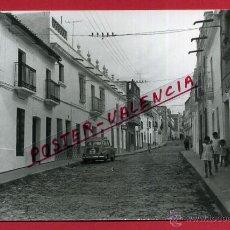 Fotografía antigua: POSTAL ALBURQUERQUE, BADAJOZ, VISTA PARCIAL, CALLE, FOTO, FOTOGRAFICA, P81040. Lote 51564469