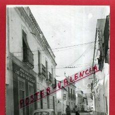 Fotografía antigua: POSTAL ALBURQUERQUE, BADAJOZ, VISTA PARCIAL, CALLE, FOTO, FOTOGRAFICA, P81041. Lote 51564485