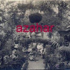 Fotografía antigua: POSTAL FOTOGRAFICA, BADAJOZ,1927, CASA DEL DUQUE, JARDIN, FOT.FRANCISCO OLIVENZA, RARISIMA, . Lote 52325703