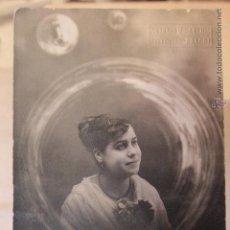 Fotografía antigua: ANTIGUA FOTOGRAFIA DE ESTUDIO, ARTÍSTICA, TARJETA POSTAL, ANTONIO SANCHIS, ALCOY. Lote 52490086