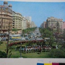 Fotografía antigua: FOTOGRABADO ANTIGUO PARA HACER POSTALES DE LA PLAZA FRANCESC MACIA-CALVO SOTELO DE BARCELONA AÑOS 60. Lote 52546950