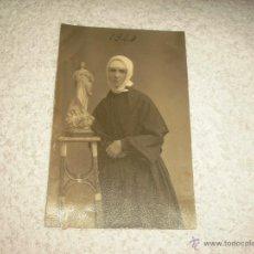 Fotografía antigua: ANTIGUA FOTO DE RELIGIOSA 1924. Lote 52587583