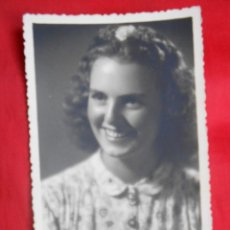 Fotografía antigua: JOVEN -FOTO STUDIO -ALCOY AÑO 1942-. Lote 52821304
