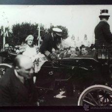 Fotografía antigua: FOTOGRAFÍA ANTIGUA. ALFONSO XIII. 1913.. Lote 52903857