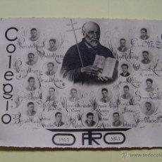 Fotografía antigua: FOTOGRAFÍA: ORLA ALUMNOS COLEGIO CALASANCIO (TORO, ZAMORA) 1948 B/N ¡ORIGINAL!. Lote 52949508