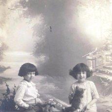 Fotografía antigua: ANTIGUA POSTAL FOTOGRÁFICA. SUZY 432. ESCRITA 1917. Lote 52985482