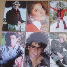 Fotografía antigua: 6 FOTOS TIPO POSTAL DE LA SERIE REBELDES LOTE 2. Lote 53240337