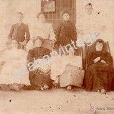 Fotografía antigua: CALAMONTE, BADAJOZ, POSTAL FOTOGRAFICA FAMILIAR, FOT.FRANCISCO OLIVENZA. Lote 53398939