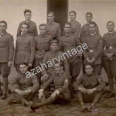 Fotografía antigua: BADAJOZ,1927, CUARTEL DE MENACHO , DIA DE SALIDA DE LA CIUDAD, MILITARES, FOT.FRANCISCO OLIVENZA. Lote 53399152