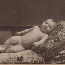 Fotografia antica: ANTIGUA FOTOGRAFIA SIGLO XX NIÑOS BAUTIZO POST MORTEM FOTOGRAFO ALOGRAFF BARCELONA. Lote 53405034