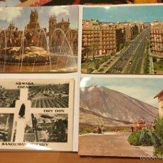 Fotografía antigua: TARJETAS POSTALES AÑO 1963. Lote 53453524
