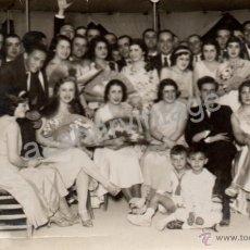 Fotografía antigua - LUCENA, CORDOBA,1931, CASETA DE FERIA, ESPECTACULAR, - 53855827