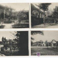Fotografía antigua: LOTE DE 5 FOTOGRAFIA. SAN ANGEL INN. MEXICO. MEJICO. GARAGE. ORIGINAL. Lote 53947669