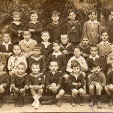 Fotografía antigua: BARCELONA. 1922. COLEGIO NTR. SRA. DE LA BONANOVA. Lote 54105742