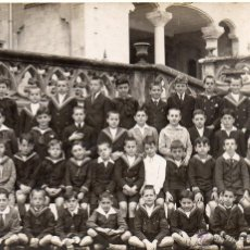 Fotografía antigua: BARCELONA. 1921. COLEGIO NTRA. SRA. DE LA BONANOVA. Lote 54122033