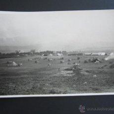 Fotografía antigua: POSTAL FOTOGRÁFICA BADAJOZ, MÉRIDA. MANIOBRAS DE ARTILLERÍA 2º REGIMIENTO PESADO, 4ª BATERÍA. . Lote 54635695