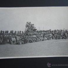 Fotografía antigua: POSTAL FOTOGRÁFICA BADAJOZ, MÉRIDA. MANIOBRAS DE ARTILLERÍA 2º REGIMIENTO PESADO, 4ª BATERÍA. . Lote 54635712