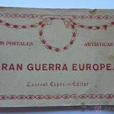 Fotografía antigua: 17 POSTALES ARTISTICAS GRAN GUERRA EUROPEA.. Lote 54698059