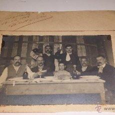 Fotografía antigua: LA GRAN CARGOLADA 1907. Lote 54840981