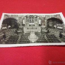 Fotografía antigua: ANTIGUA TARJETA POSTAL - SANTUARIO DE LOYOLA - PAÍS VASCO - AÑOS 50. Lote 54888332