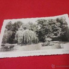 Fotografía antigua: ANTIGUA TARJETA POSTAL - PARQUE DE LA FLORIDA - VITORIA - PAÍS VASCO - AÑOS 50. Lote 54888404
