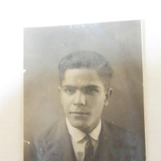 Fotografía antigua: FOTOGRAFIA CABALLERO, SIN FOTOGRAFO, FIRMADA EN LUBRIN 1929. Lote 55087821