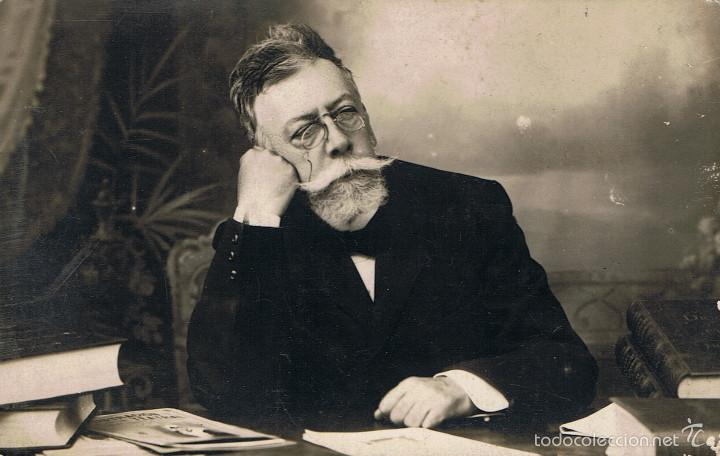 FOTO DE ANGEL GUIMERÀ.CA. 1910-1920. FOTOGRAFIA SAN PABLO. ABAD-ZAFONT Nº 11 BARCELONA (Fotografía Antigua - Tarjeta Postal)