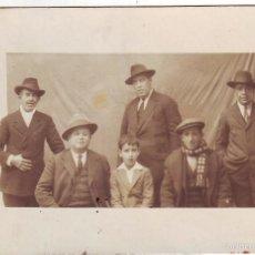 Fotografía antigua: PLASENCIA GRUPO DE PERSONAS 1931. Lote 56073588