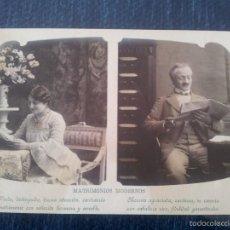 Fotografía antigua - MATRIMONIOS MODERNOS .2 TARJETAS POSTALES - 56163101