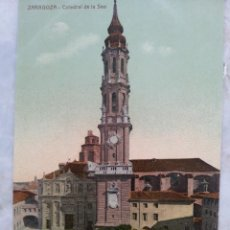 Fotografía antigua: ZARAGOZA PRINCIPIOS DE SIGLO. CUATRO TARJETAS POSTALES. Lote 56180248