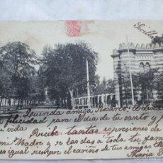 Fotografía antigua: T. POSTAL SEVILLA. PASEO DE LAS DELICIAS. Lote 56413350