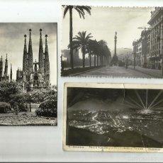 Alte Fotografie - LOTE DE TARJETAS POSTALES DE BARCELONA. AÑOS 50. - 56634998