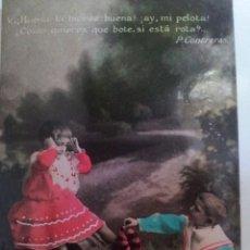 Fotografía antigua: TRES TARJETAS POSTALES DE PRINCIPIOS DE SIGLO. Lote 56695015