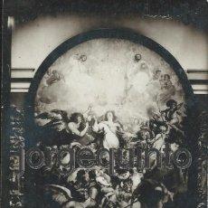 Fotografía antigua: ANTIGUA FOTOGRAFÍA. LA INMACULADA CONCEPCIÓN. EL GRAN SALÓN DEL MUSEO. M.N. DE ESCULTURA. VALLADOLID. Lote 56799392