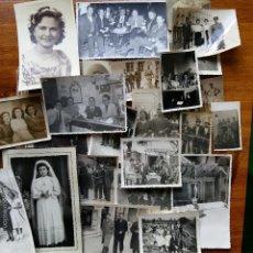 Fotografía antigua: LOTE DE MULTITUD DE FOTOGRAFIAS DIFERENTES TEMAS. Lote 56902685