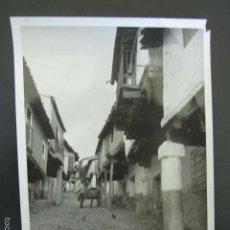 Fotografía antigua: FOTOGRAFÍA CÁCERES. GUADALUPE. FOTÓGRAFO ARIEL. 18 X 13 CM. Lote 56933881