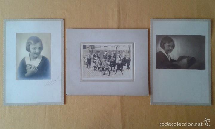 3 fotos principios siglo xx, alemania -- niña 2 - Comprar ...