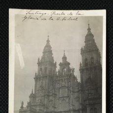 Fotografía antigua: GALICIA - CORUÑA - CATEDRAL SANTIAGO - PUERTA DE LA GLORIA - FOTO ANTIGUA - POSTAL FOTOGRAFICA. Lote 57344145