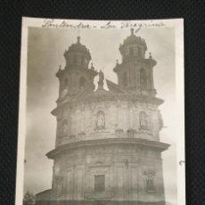 Fotografía antigua: GALICIA - PONTEVEDRA - VIRGEN PEREGRINA - FOTO ANTIGUA - POSTAL FOTOGRAFICA - DOBLE EXPOSICION. Lote 57344399