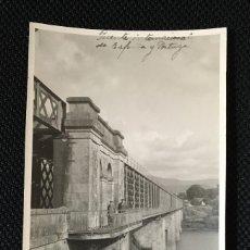 Fotografía antigua: GALICIA - PONTEVEDRA - TUY - TUI - PUENTE - FOTOGRAFUA ANTIGUA - PORTUGAL. Lote 57344575