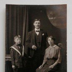 Fotografía antigua: RETRATO DE FAMILIA HACIA 1900. Lote 57374333