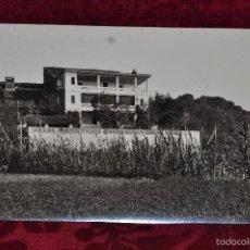 Fotografía antigua: ANTIGUA FOTOGRAFIA DE ARBUCIES (GIRONA). AÑOS 50. TORRE DE MALARET. Lote 57777769