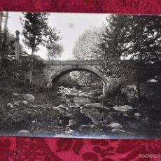 Fotografía antigua: ANTIGUA FOTOGRAFIA DE ARBUCIES (GIRONA). AÑOS 50. PUENTE DE CAN CUADRES. Lote 57777796