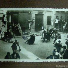 Fotografía antigua: SAN FERMÍN, POSTAL. PAMPLONA 1949-1950. Lote 57808960