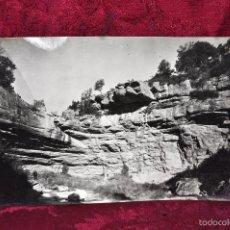 Fotografía antigua: ANTIGUA FOTOGRAFIA DE ARBÚCIES (GIRONA). AÑOS 50. PAISAJE. Lote 57848509