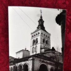 Fotografía antigua: ANTIGUA FOTOGRAFIA DE SEGOVIA. AÑOS 50. IGLESIA DE SAN MARTÍN. Lote 57864191
