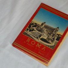 Fotografía antigua: LIBRO CON 32 FOTOGRAFÍAS DE ROMA A TODO COLOR - AÑOS 50 - ROMA 32 VERDUTE A COLORI, PARTE II. Lote 58113928