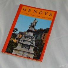 Fotografía antigua: LIBRO CON 17 FOTOGRAFÍAS DE GENOVA A TODO COLOR - AÑOS 50 - GENOVA - RICORDO - REMEMBER - SOUVENIR. Lote 58114064