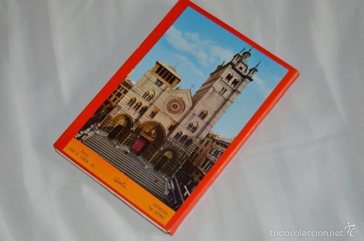 Fotografía antigua: Libro con 17 fotografías de GENOVA a todo color - Años 50 - GENOVA - RICORDO - REMEMBER - SOUVENIR - Foto 2 - 58114064